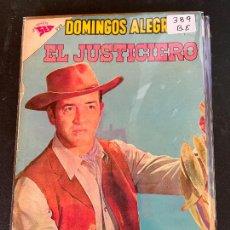 Tebeos: NOVARO DOMINGOS ALEGRES NUMERO 389 BUEN ESTADO. Lote 244555400