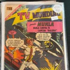 BDs: NOVARO TV MUNDIAL NUMERO 195 NORMAL ESTADO. Lote 244555825