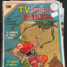 BDs: NOVARO TV MUNDIAL NUMERO 164 MUY BUEN ESTADO. Lote 244555940
