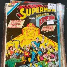 Tebeos: NOVARO SUPERMAN SERIE AVESTRUZ NUMERO 104 BUEN ESTADO. Lote 244564115