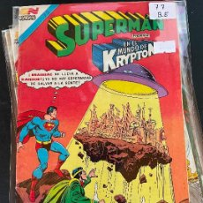 Tebeos: NOVARO SUPERMAN SERIE AVESTRUZ NUMERO 77 BUEN ESTADO. Lote 244564385