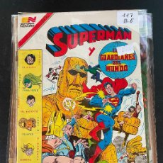 Tebeos: NOVARO SUPERMAN SERIE AVESTRUZ NUMERO 117 BUEN ESTADO. Lote 244564460