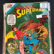 Tebeos: NOVARO SUPERMAN SERIE AVESTRUZ NUMERO 79 BUEN ESTADO. Lote 244564555