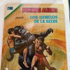 Tebeos: NOVARO DOMINGOS ALEGRES SERIE AGUILA NUMERO 1263 NORMAL ESTADO. Lote 244580965