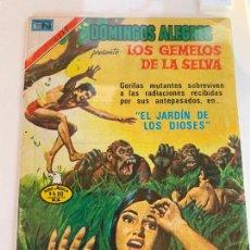 Tebeos: NOVARO DOMINGOS ALEGRES SERIE AGUILA NUMERO 1379 NORMAL ESTADO. Lote 244581405