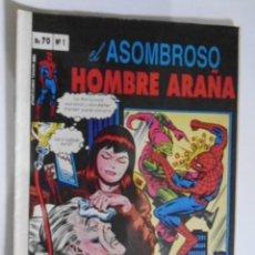 Tebeos: EL ASOMBROSO HOMBRE ARAÑA- LOTE DE 5 CÓMICS- EDICION VENEZUELA - MARVEL- RAREZA EN FÍSICO. Lote 244581500