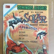 Tebeos: DOMINGOS ALEGRES - Nº 858. NOVARO - 1970. EL DOCTOR SOLAR - EL HOMBRE ATOMICO.. Lote 244751475