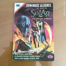 Tebeos: DOMINGOS ALEGRES - Nº 833. NOVARO - 1970. EL DOCTOR SOLAR - EL HOMBRE ATOMICO.. Lote 258991235