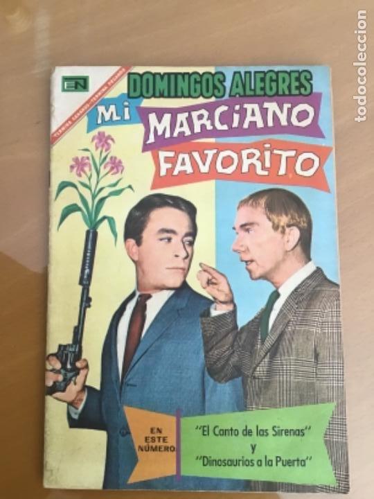 DOMINGOS ALEGRES - Nº 698. NOVARO - 1967. MI MARCIANO FAVORITO. (Tebeos y Comics - Novaro - Domingos Alegres)