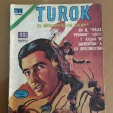 Tebeos: TUROK - Nº 67. NOVARO - 1976. EL GUERRERO DE PIEDRA. Lote 244775715