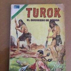 Tebeos: TUROK - Nº 64. NOVARO - 1974. EL GUERRERO DE PIEDRA. Lote 244776010