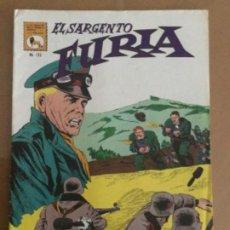 Tebeos: EL SARGENTO FURIA - Nº 123. LA PRENSA (MEXICO). 1972. Lote 244781450