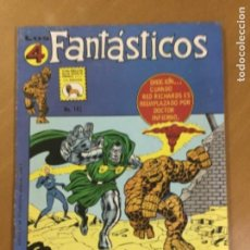 Tebeos: LOS 4 FANTASTICOS - Nº 143. LA PRENSA (MEXICO). 1972. Lote 244783720