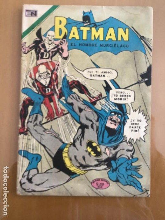 BATMAN - Nº 582. NOVARO - 1971. UN MUERTO ATACA (Tebeos y Comics - Novaro - Batman)