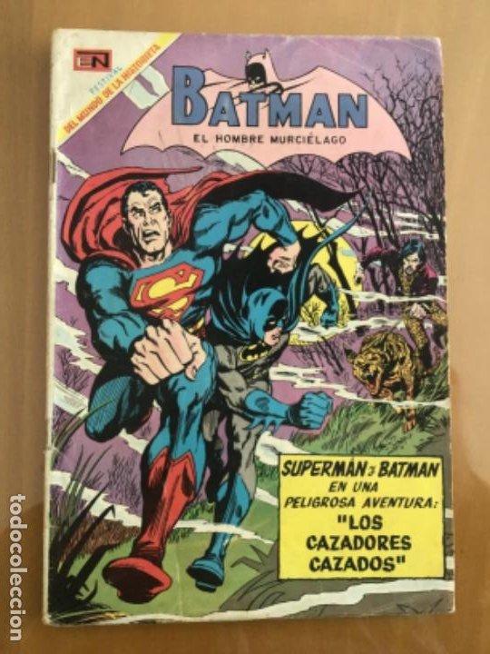 BATMAN - Nº 484. NOVARO - 1969. SUPERMAN Y BATMAN - LOS CAZADORES CAZADOS (Tebeos y Comics - Novaro - Batman)