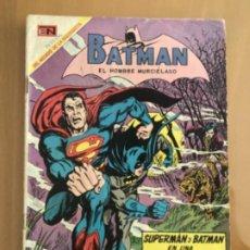 Tebeos: BATMAN - Nº 484. NOVARO - 1969. SUPERMAN Y BATMAN - LOS CAZADORES CAZADOS. Lote 244951950