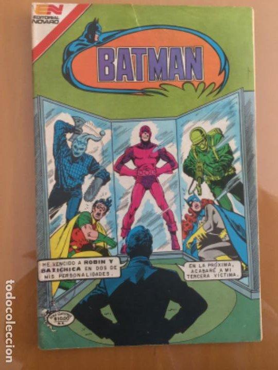 BATMAN - Nº 3 - 31. NOVARO - SERIE AVESTRUZ. 1982. LA FURIA DEL CINCO EN UNO (Tebeos y Comics - Novaro - Batman)