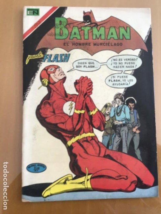BATMAN - Nº 599. NOVARO - 1971. FLASH - QUE NADIE LLORE POR EL RAYO ESCARLATA. (Tebeos y Comics - Novaro - Batman)