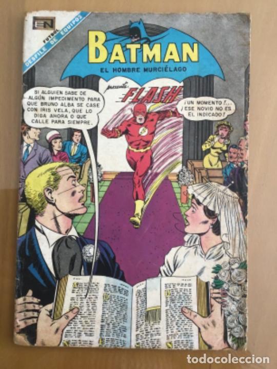 BATMAN - Nº 408. NOVARO - 1968. FLAH - UNA NOVIA PARA DOS (Tebeos y Comics - Novaro - Batman)