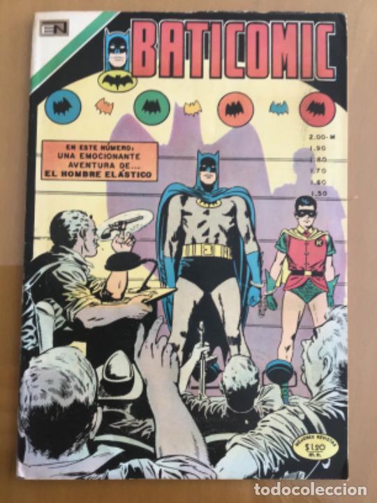 BATICOMIC - Nº 43. NOVARO - 1970. BATMAN (Tebeos y Comics - Novaro - Batman)