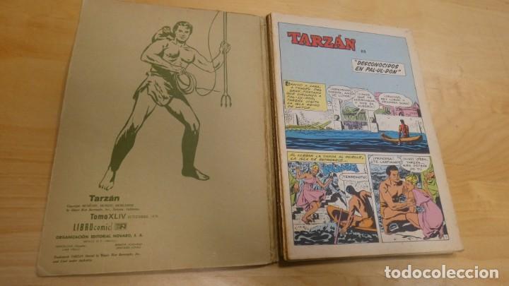 Tebeos: LIBRO COMIC TARZAN TOMO XLIV . SETIEMBRE 1978 - Foto 2 - 244975855