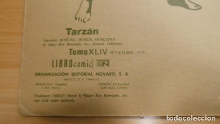 Tebeos: LIBRO COMIC TARZAN TOMO XLIV . SETIEMBRE 1978 - Foto 3 - 244975855