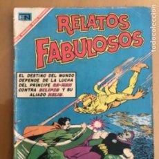 Tebeos: RELATOS FABULOSOS - Nº 93. NOVARO - 1967. ECLIPSO Y EL PRINCIPE DE RA-MAN. HELIO, LA AMENAZA SOLAR.. Lote 245128580