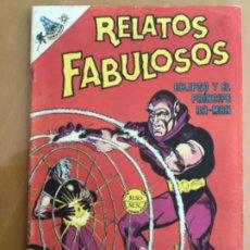 Tebeos: RELATOS FABULOSOS - Nº 105. NOVARO - 1968. ECLIPSP Y EL PRINCIPE RA.MAN. Lote 245128935
