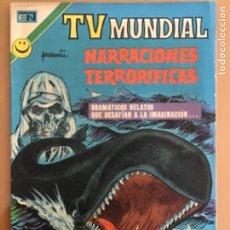Livros de Banda Desenhada: TV MUNDIAL - Nº 234. NOVARO - 1972. NARRACIONES TERRORIFICAS. DRAMATICOS RELATOS QUE DESAFIAN..... Lote 272436358