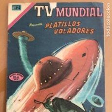 Tebeos: TV MUNDIAL - Nº 214. NOVARO - 1972. PLATILLOS VOLADORES.. Lote 245131580