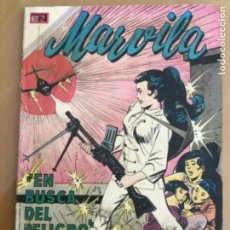 Tebeos: MARVILA - Nº 184. NOVARO - 1971. EN BUSCA DEL PELIGRO.. Lote 272068353