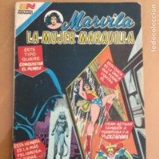 Tebeos: MARVILA - Nº 3 - 275. NOVARO - SERIE AVESTRUZ. 1982. LA MUJER MARAVILLA. Lote 245134125