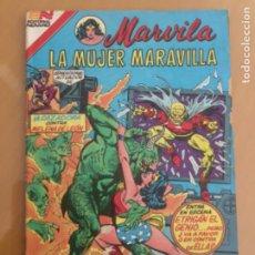 Tebeos: MARVILA - Nº 3 - 281. NOVARO - SERIE AVESTRUZ. 1982. LA MUJER MARAVILLA - EPIDEMIA DE MONSTRUOS.. Lote 245134295