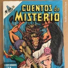 Tebeos: CUENTOS DE MISTERIO - Nº 134. NOVARO - 1968. EL HOMBRE HALCON.. Lote 245134870