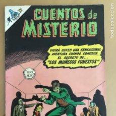 Tebeos: CUENTOS DE MISTERIO - Nº 133. NOVARO - 1968.. Lote 245134965