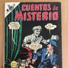 Tebeos: CUENTOS DE MISTERIO - Nº 135. NOVARO - 1968.. Lote 245134985