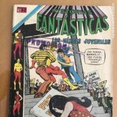 Tebeos: HISTORIAS FANTASTICAS - Nº 278. NOVARO - 1971. LOS HEROES JUVENILES.. Lote 245135075