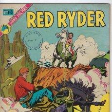 Tebeos: RED RYDER - AÑO XIX - Nº 307 - JUNIO 27 DE 1973 ** EDITORIAL NOVARO **. Lote 245186180