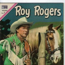 Tebeos: ROY ROGERS - AÑO XVIII - Nº 218 - ABRIL 29 DE 1970 ** EDITORIAL NOVARO **. Lote 245191010
