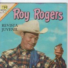Tebeos: ROY ROGERS - AÑO XVII - Nº 198 - FEBRERO 1º DE 1969 ** EDITORIAL NOVARO **. Lote 245192595