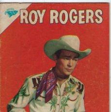 Livros de Banda Desenhada: ROY ROGERS - AÑO XI - Nº 130 - JUNIO 1º DE 1963 ** EDITORIAL NOVARO - SEA **. Lote 245195995