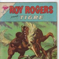 Tebeos: ROY ROGERS - AÑO XI - Nº 124 - DICIEMBRE 1º DE 1962 ** EDITORIAL NOVARO - SEA **. Lote 245196235