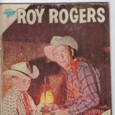 Tebeos: ROY ROGERS - AÑO IX - Nº 107 - JULIO 1º DE 1961 ** EDITORIAL NOVARO - SEA **. Lote 245196530