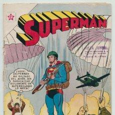 Tebeos: SUPERMÁN - Nº 258 - SUPERMÁN EN EL EJÉRCITO - ED. RECREATIVAS MEXICO - 1960. Lote 245427520