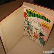 Tebeos: TOMO CON 15 NÚMEROS DE SUPERMAN, 1957, EDICIONES RECREATIVAS, BUEN ESTADO. Lote 245546915