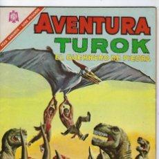 Tebeos: AVENTURA PRESENTA: TUROK EL GUERRERO... AÑO XIII - Nº 461 - NOV. 8 DE 1966 ** EDITORIAL NOVARO **. Lote 245552390