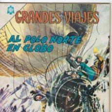 Tebeos: GRANDES VIAJES: AL POLO NORTE EN GLOBO - AÑO III - Nº 35 - DIC. 1º DE 1965 ** EDITORIAL NOVARO **. Lote 245557760