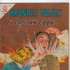 Tebeos: GRANDES VIAJES: EL CAPITÁN COOK - AÑO III - Nº 32 - SEP. 1º DE 1965 ** EDITORIAL NOVARO **. Lote 245558010