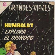 Tebeos: GRANDES VIAJES: HUMBOLDT EXPLORA EL ORINOCO - AÑO II - Nº 23 - DIC. 1º DE 1964 ** EDITORIAL NOVARO *. Lote 245559355