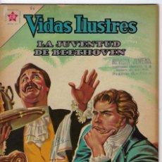 Tebeos: VIDAS ILUSTRES: LA JUVENTUD DE BEETHOVEN - AÑO VII, Nº 84 - ENERO 1º DE 1963 ** EDITORIAL NOVARO **. Lote 245560165
